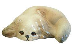 1950s Pekingese Dog Figurine on OneKingsLane.com Pekingese Dogs, 1950s, Lion Sculpture, Statue, Dolls, Art, Puppet, Doll, Kunst