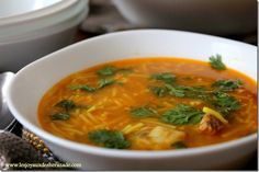 la chorba, cuisine algerienne