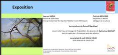 Prochaine exposition de Catherine Cannat Les Oeuvres, Pastels, Map, City Council, Frames, Location Map, Maps