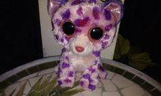 """BEANIE BOO """"GLAMOUR"""" THE LEOPARD ONLY ONE LEFT ON EBAY . PLACE A QUICK BID NOW ON EBAY . VISIT SITE ABOVE."""