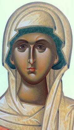 Byzantine Icons, Byzantine Art, Orthodox Icons, Religious Art, Hair Designs, Madonna, Peace And Love, Techno, Saints
