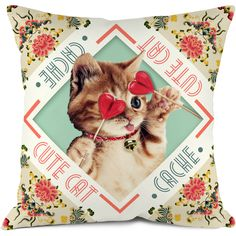 Coussin Cute cat