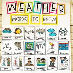 Weather Activities For Kids - Teaching Special Thinkers, # art lesson plans free Weather Activities For Kids - Teaching Special Thinkers, Lesson Plans For Toddlers, Kindergarten Lesson Plans, Art Lessons For Kids, Homeschool Kindergarten, Preschool Lessons, Weather Kindergarten, Pre K Lesson Plans, Preschool Lesson Plan Template, Online Homeschooling