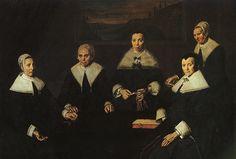 The Women Regents of the Haarlem Almshouse  1664  Frans Hals Museum    Frans Hals