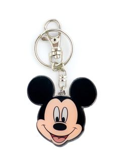 Mickey Mouse Expression Pewter Keychain - Sunset Key Chains