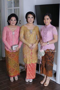 Dress Brokat Modern, Kebaya Modern Dress, Kebaya Dress, Kebaya Jawa, Kebaya Brokat, Indonesian Wedding, Model Kebaya, Batik Kebaya, Lace Design