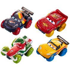 Disney Pixar Cars Hydro Wheels 4 Pack