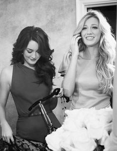 Blair and Serena | End of a Era Gossip Girl Blair Waldorf & Serena van der Woodsen | Leighton Meester | Blake Lively ♥♠♥