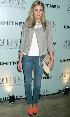 Olivia Palermo In A Valentino Dress, 2007 | Look