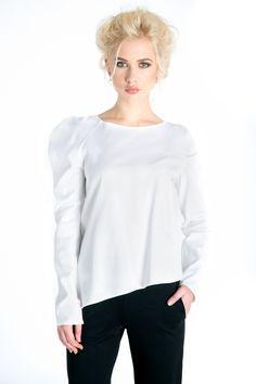 #whiteblouse  http://www.bluzat.ro/produs/bluza-cu-un-singur-umar/