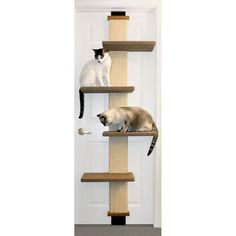 A multi-level climbing platform that is a great source of exercise. Easy assembly & disassembly.