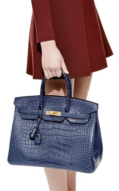 hermes purse price - HERMES BIRKIN 35 porosus crocodile coveted BORDEAUX palladium ...