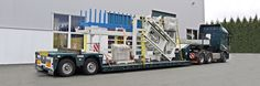 STL Logistik AG - Tiefbettfahrzeuge - Spezialtransporte - Schwerlasttransporte