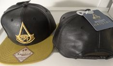 quality design cd227 14ab0 Assassins Creed Origins Weld Logo Snap Back PU Crown Video Game Hat Nwt   AssassinsCreed  SnapBack