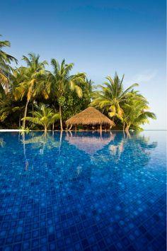 Infinity Pool | Kuramathi Island Resort, Maldives