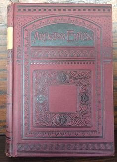"Vintage book from 1800s, ""History  of Germany"", Arlington edition. by LoveThisOldHouse on Etsy"