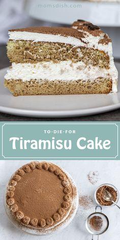 Great Desserts, Delicious Desserts, Easy Cake Recipes, Dessert Recipes, How To Make Tiramisu, Russian Cakes, Cupcake Cakes, Cupcakes, Tiramisu Cake