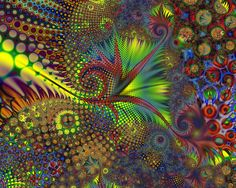 i see symmetry, patterns brought to life and value, i also see `unity and pops of colour everywhere. Fractal Art, Fractals, Color Pop, Colour, Gif, Geometric Art, Repeating Patterns, Natural World, Unity
