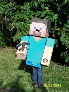 Steve from Minecraft - Halloween Costume Contest via @costumeworks