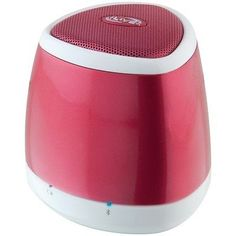 ILIVE-BLUE-iSB23R-Portable-Bluetooth-Speaker-Red