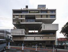 Kenzo Tange's Embassy of the State of Kuwait, Tokyo, Japan, 1970