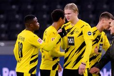 Haaland scores four as Dortmund beats Hertha - FOOTBALL FLAME