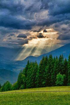 Mountain Storm, The Alps, Austria