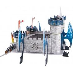 """""""Castelul Dragonului"""" Puzzle 3D Bookends, Puzzle, 3d, Vehicles, Home Decor, Puzzles, Decoration Home, Room Decor, Riddles"""