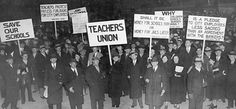 Teachers protesting for rights. John Dewey, Orthodox Jewish, Learning Theory, Working Woman, Teacher, America, Google Search, Image, Style