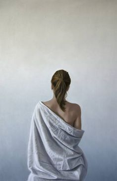 "Saatchi Art Artist Béla Dohárszky; Back Painting, ""Watching the transition"" #art"