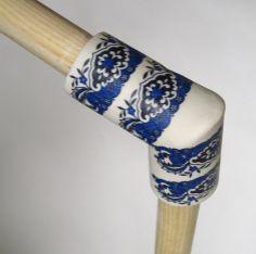 Des « noeuds » en porcelaine pour les meubles en bois | Décoration maison, meubles maison jardin et design intérieur sur Artdco.net