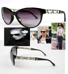 cbf120fe80edc CHANEL Sunglasses 5215 Leather Chain