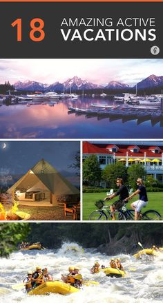 18 Amazing Active Vacations You Can Actually Afford #healthy #vacations #travel
