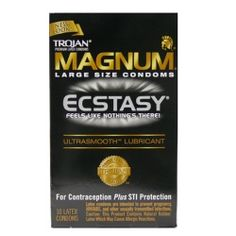 Trojan Magnum Ecstasy Ultrasmooth- 72 cents each!