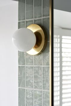 March Twice Interiors - Lower North Shore project. Bathroom Wall Lights, Wall Sconces, Bathroom Lighting, Bathroom Wall Cabinets, Under Cabinet Lighting, Vanity Lighting, Vanity Decor, Glass Replacement, Stone Flooring