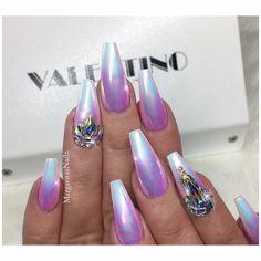 "393 Me gusta, 4 comentarios - David Anthony (@valentinobeautypure) en Instagram: "" @margaritasnailz  @valentinobeautypure @vetro_usa #nails #coffinnails#nailart#teamvalentino…"""
