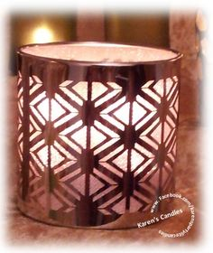 Enchanted Silver Votive Holder