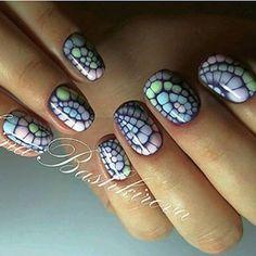 Маникюр. Дизайн ногтей. Art Simple Nail Nail Art Designs Videos, Gel Nail Designs, Dot Nail Art, Acrylic Nail Art, Pedicure Nail Art, Diy Nails, Halloween Nail Art, Nail Art Galleries, Nail Tutorials