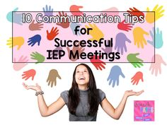 Speech Paths: 10 Communication Tips for Successful IEP Meetings. Pinned by SOS Inc. Resources. Follow all our boards at pinterest.com/sostherapy/ for therapy resources.
