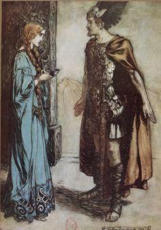 Siegfried Et Le Crepuscule Des Dieux Par Richard Wagner Gallica Rackham Illustrator Tale Conte Siegfried Wagner Les Arts Illustration Ancienne Artiste