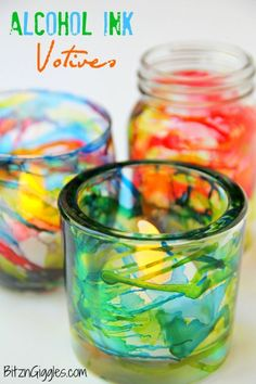 Alcohol Ink Glass, Alcohol Ink Crafts, Alcohol Ink Painting, Dollar Store Crafts, Dollar Stores, Tattoos Motive, Homemade Alcohol, Ink Splatter, Do It Yourself Fashion