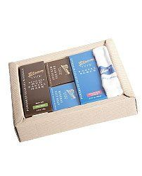 Corrugated 4 Piece Box Set by bloom. $50.15. 5 piece gift set ,one towel,facial scrub,mud soap, mineral soap, face mud mask. 5 piece gift set