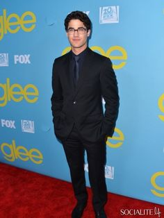 Darren Criss at The Academy of Television Arts and Sciences 'Glee' screening in West Hollywood