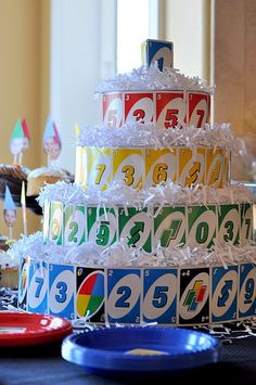 UNO First Birthday. LOVE THIS!