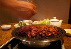 7 Best Korean Restaurants in London - London Expats Guide Moving To The Uk, Korean, Beef, London, Restaurants, Food, Meat, Korean Language, Essen
