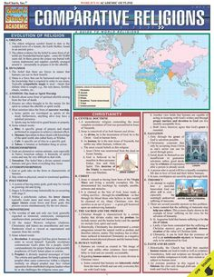 Compares key philosophies, elements, figures, concepts and literature of major world religions to better understand their differences and similarities. Useful for anyone interested in learning more about various aspects of world religion and humanity. The 6-page guide covers: evolution of religion,