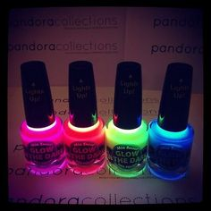 Mia Secret Glow In The Dark Nail Polish *Pick 1 Color!!*