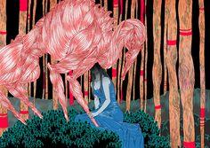 Joanna Krotka's Vibrant Digital Illustrations