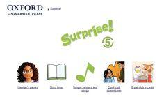 Surprise!, Inglés de 5º Nivel de Educación Primaria, de Editorial Oxford, contiene actividades interactivas complementarias al material didáctico de este nivel.