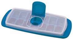 Ice Cube Tray with Lid Joie's Covered BPA-Free Plastic 14-Cubes No Odor Taste  #MSCInternational